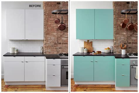contact paper cabinets before and after 29 ways to decorate your rental with contact paper