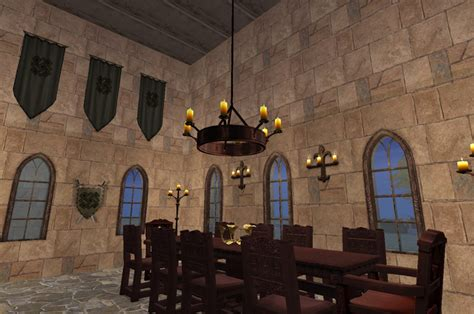 Castle Interior Design by A Journey Through A Medieval Castle