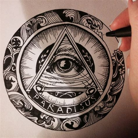 search illuminati traditional all seeing eye design search