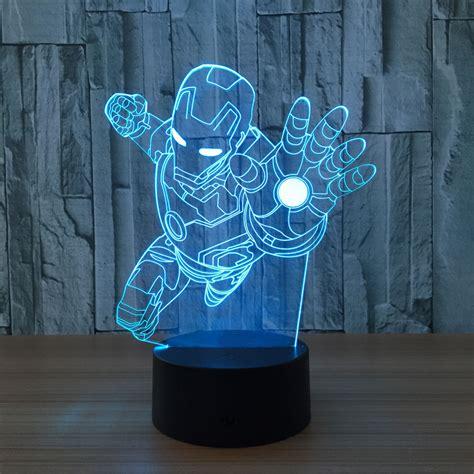 avengers ironman flying  led lamp