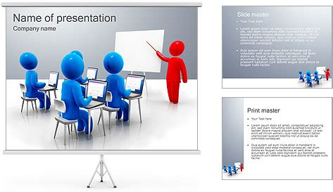 training powerpoint template backgrounds id 0000002915