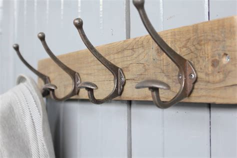 coat hooks limited edition reclaimed bowler hat and coat hook by m 246 a