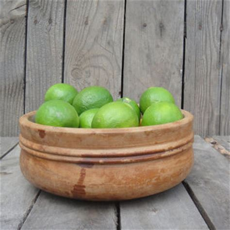vintage wooden serving fruit bowl fall from dentonvintage on etsy