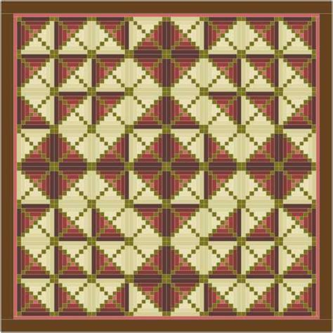 Log Cabin Quilt Pattern Variations by Log Cabin Cornerstones 1 And 2 Quilter