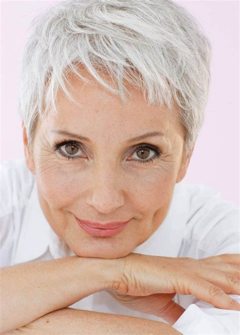 hairstyles for gray hair women over 55 cool f gabriela rickli short pixie haircuts