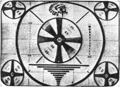 test pattern non indian the television test pattern january 1949 radio