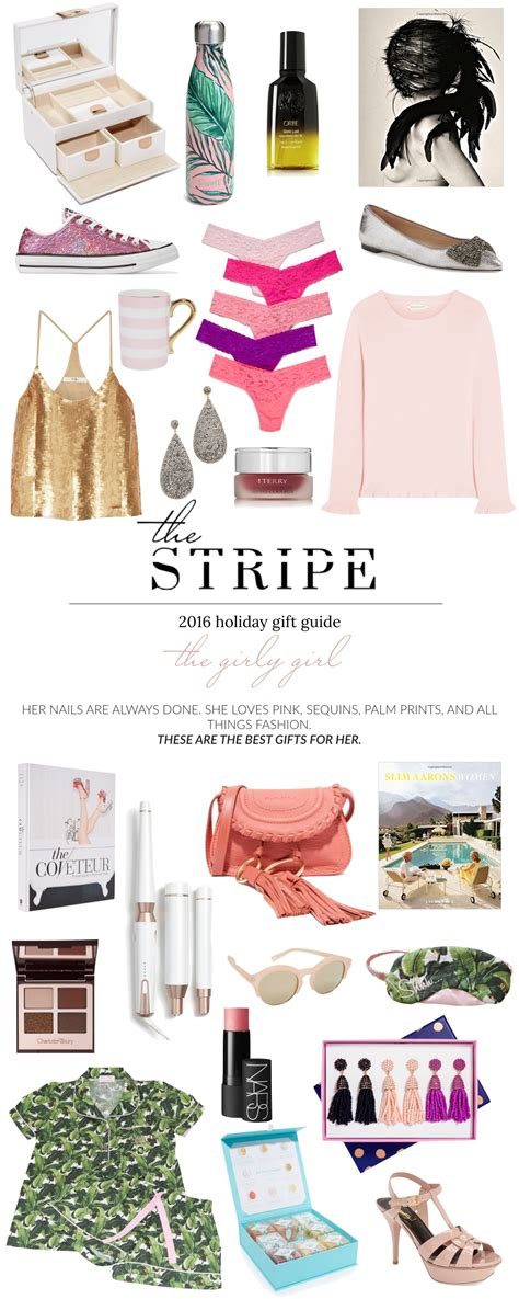 Best Gifts for Her 2016: The Girly Girl   The Stripe.