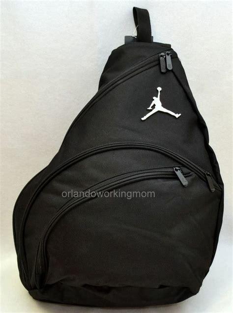 nike air sling backpack jumpman black boy