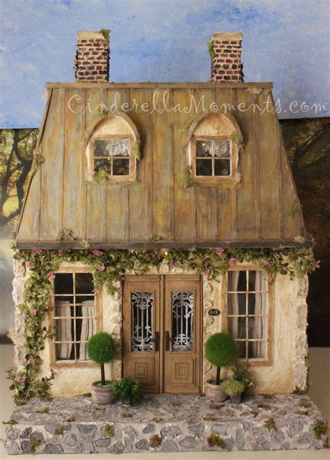 roof design doll house cinderella moments la maison de cagne custom dollhouse