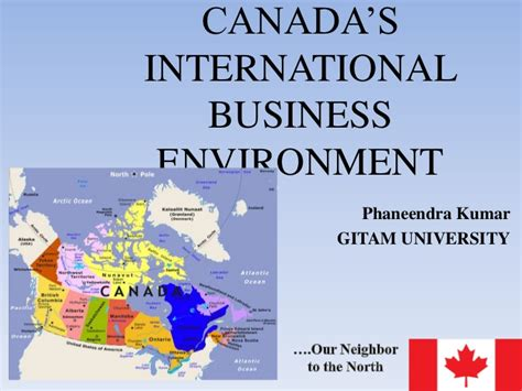 International Mba Canada by Canada S International Business Environment 1