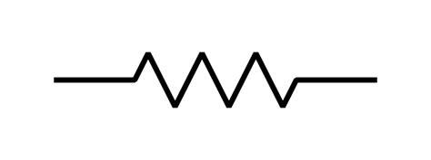 fixed resistor schematic symbol file resistor symbol america svg wikimedia commons
