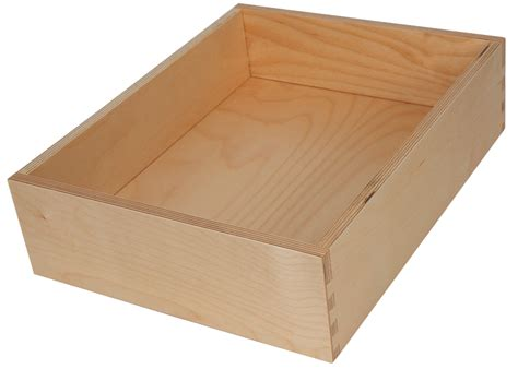 Dovetail Drawer Construction by Plywood Dovetailed Drawer Boxes Walzcraft