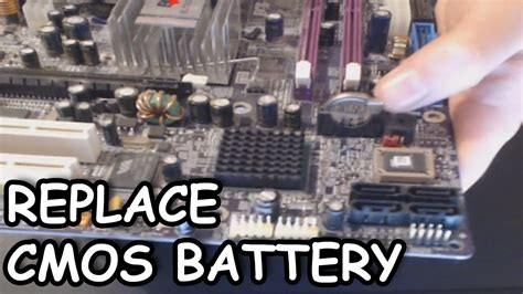how to reset cmos battery on laptop how to change the cmos battery in your desktop computer