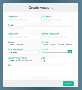 html css form design how to design cool html css registration or sign up form