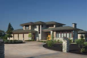 contemporary style house plans modern prairie style house plans house plans