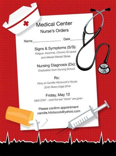 Nursing Graduation Card Template by 14 Best Graduation Invitations Images On