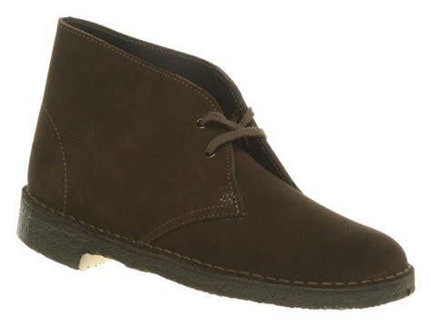 womens clarks originals desert boot brown suede boots ebay