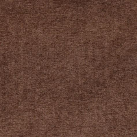 Chocolate Brown Solid Woven Velvet Upholstery Fabric By