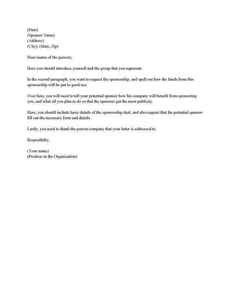 search results for sle event sponsorship letter
