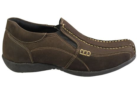 Mens Casual Suede Loafer Shoes Casual Moccasins Driving Shoes mens casual loafers smart nubuck suede leather comfort driving mocassin shoes ebay