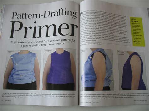 pattern drafting primer das threads magazin m 228 rz nr 165 hobbyschneiderin 24