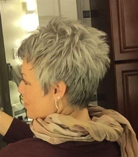 short grey hairstyles pinterest sexy gray short hair rocks pinterest gray