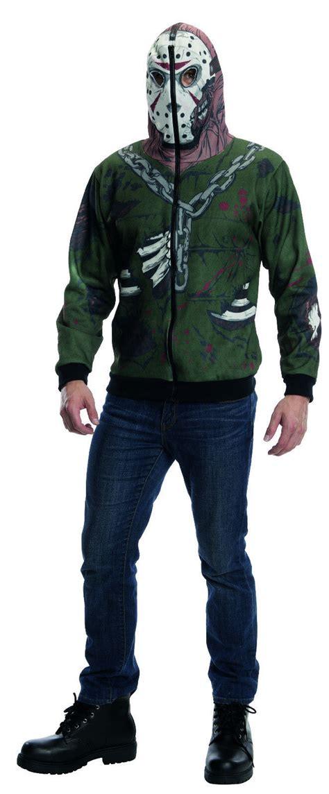Hoodie Zipper Friday friday the 13th jason voorhees sweater horror hoodie xl sweatshirts hoodies