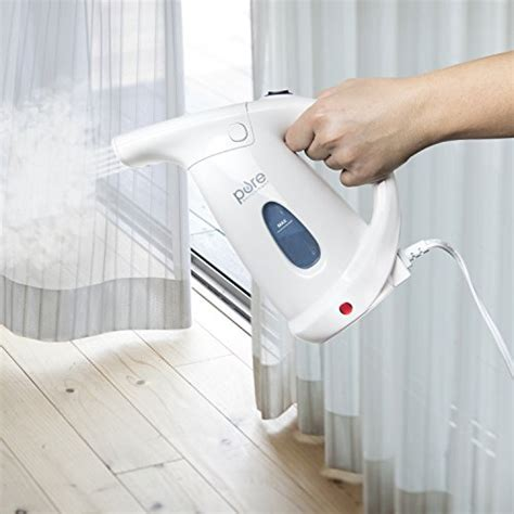 Handheld Steamer For Curtains with Handheld Steamer For Curtains Puresteam Deluxe Handheld Garment Steamer Powerful Import It All