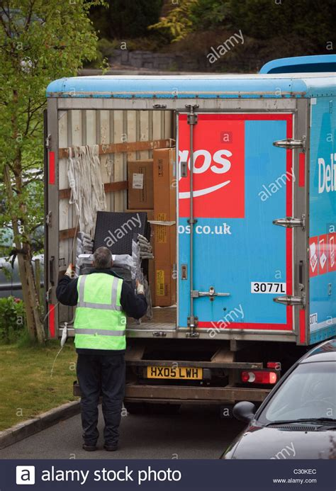 argos home delivery in a with rear door open
