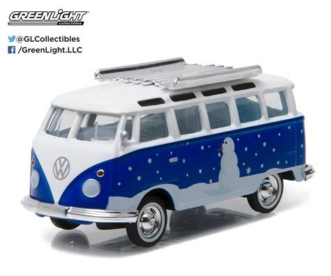 vw snowman greenlight 1 64 greenlight 2016 holiday collection