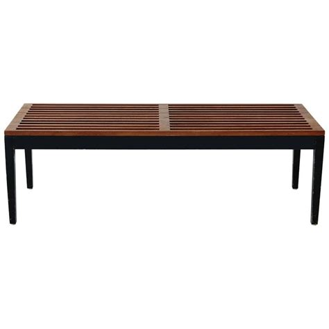 miller bench rare herman miller bench by george nelson for sale at 1stdibs