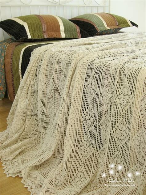 Handmade Bedding - handmade bedding set king hook needle cotton thread bed