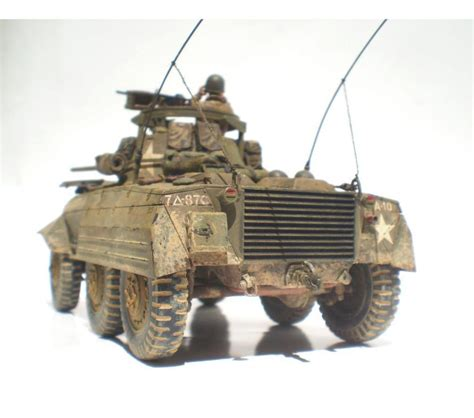 Best Seller S 35 by 1 35 U S M8 Light Armored Car M8 Greyhound Bestseller