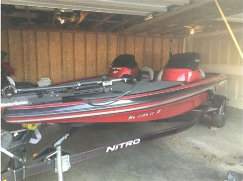used nitro z7 bass boats for sale nitro z7 boats for sale in dublin ohio
