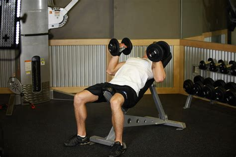 hammer bench press hammer grip incline db bench press exercise guide and video
