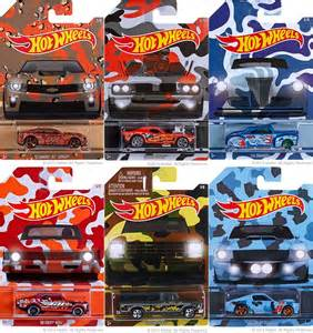 Hot Wheels Camouflage Series   YouTube