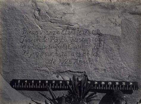Charles Jourdan 1028 1382 New Original file historic record of the conquest south side of inscription new mexico no jpg