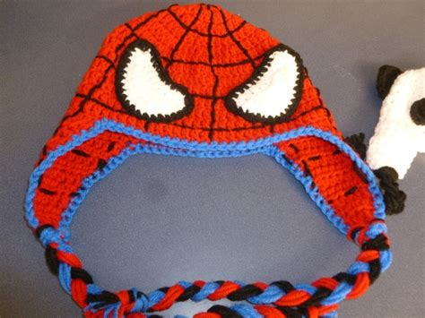 spiderman knitting pattern hat a spiderman hat that i made crochet inspiration hats