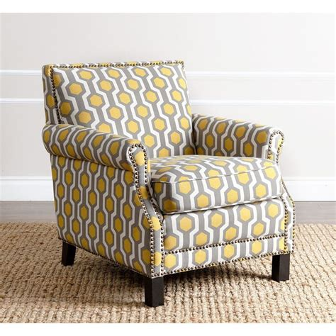 yellow patterned armchair great for your living or entertaining rooms this chloe