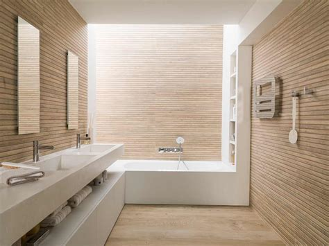 Beige And White Bathrooms by Satariano Bathroom Porcelanosa Modern Beige Design With