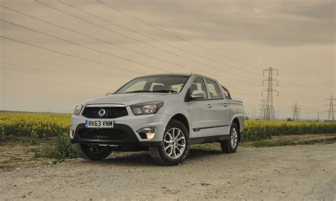 ssangyong korando sports ssangyong korando sports ex car review technology the
