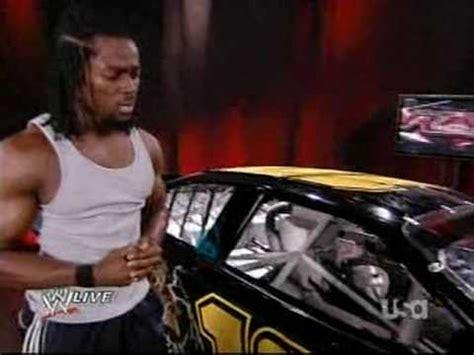 kofi kingston trashes randy ortons  car youtube