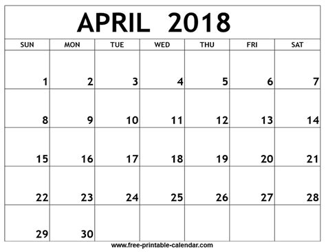 Or Free 2018 2018 Printable Calendars Templates Free Printable
