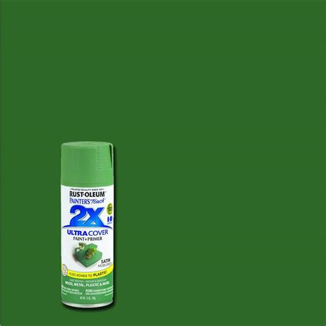green paint spray rust oleum painter s touch 2x 12 oz satin moss green
