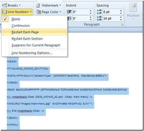 Word Insert Section Number by Insert Numbered Item In Word 2010 Numbering In Microsoft