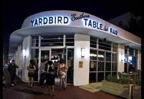 the southern table yardbird southern table bar miami restaurant