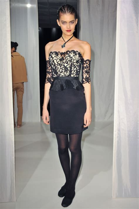 Behnaz Sarafpour Fall 2007 by Kamila Hansen Page 5 The Fashion Spot