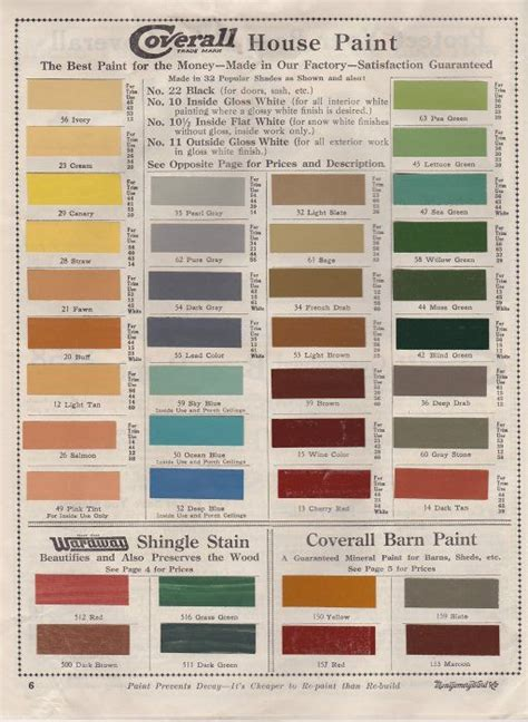 fashionable paint colors  early  century america