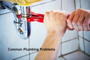 common plumbing problems we see in the houston area