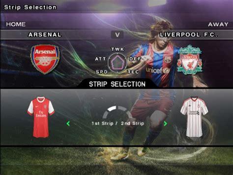 Arsenal Home Kit 20152016 Cetak Nama Patch real team names nama asli tim pes 2011 anton pc